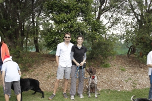 Martin, Sophie and Mawson the WonderGSP!